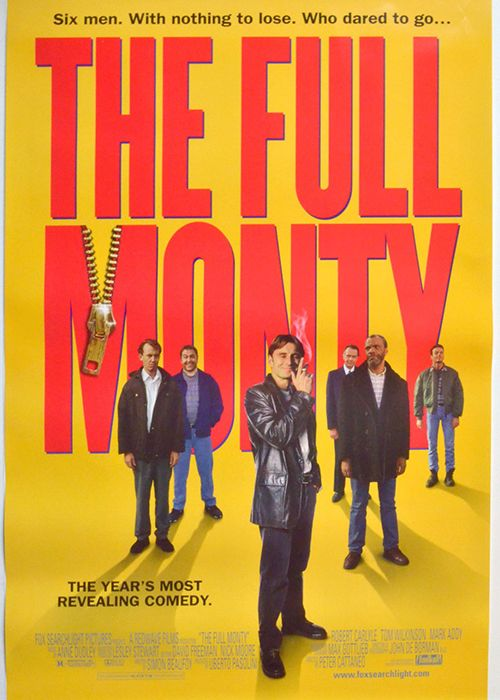 The original score of <em>The Full Monty</em>