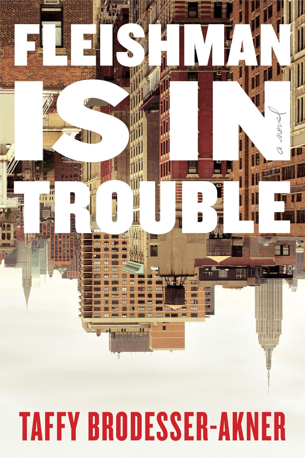 Fleishman Is In Trouble, by Taffy Brodesser-Akner (Random House, August 18)