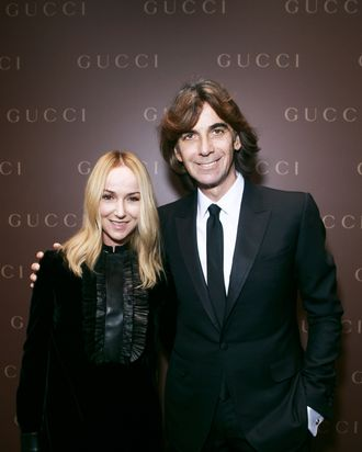 Frida Giannini and Patrizio diMarco.