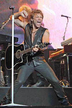 Bon Jovi ate well this week!