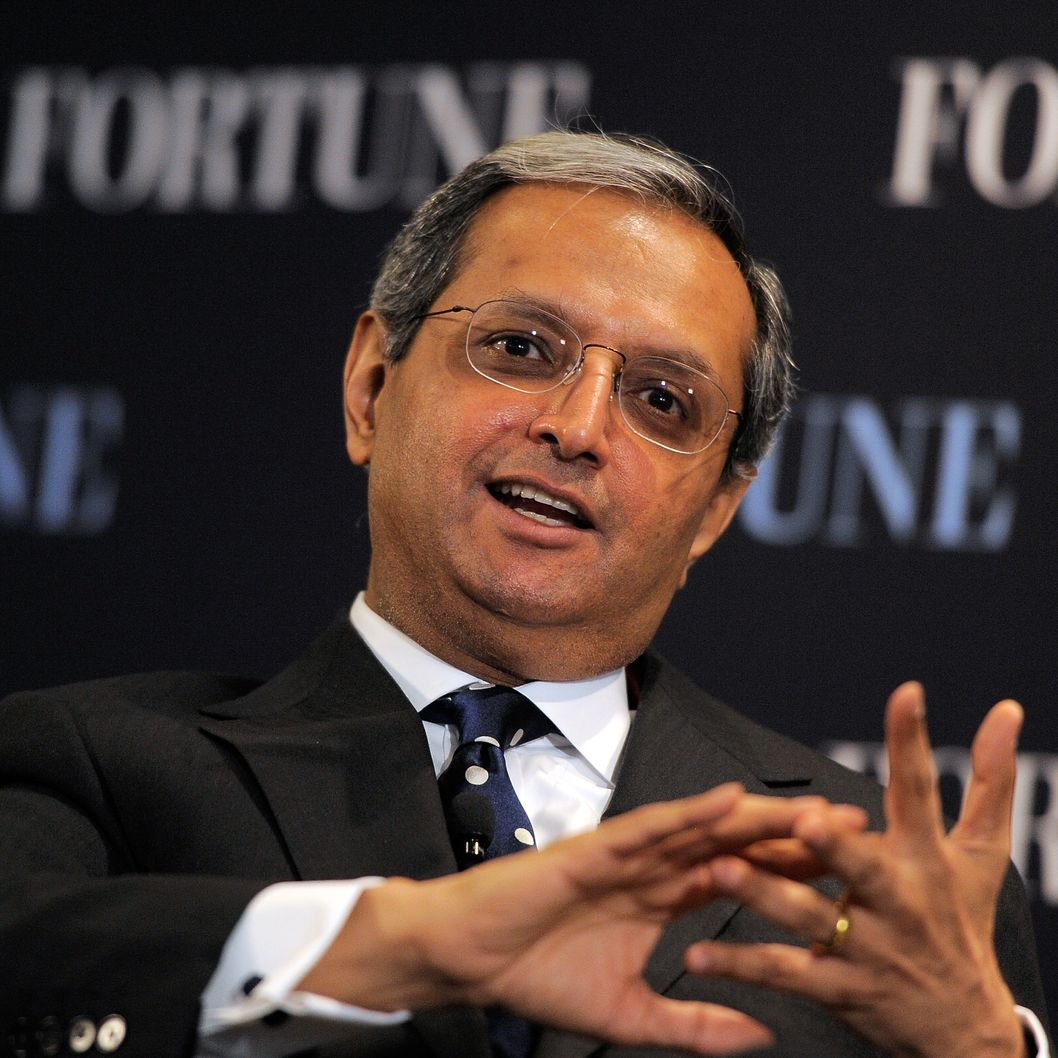 NEW YORK, NY - OCTOBER 12:  CEO of Citigroup Vikram Pandit speaks during the FORTUNE Breakfast & Conversation with Vikram Pandit, CEO, Citigroup at TIME Building on October 12, 2011 in New York City.  (Photo by Jemal Countess/Getty Images for TIME Inc.)