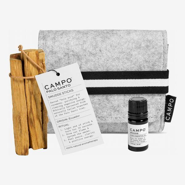 Campo Palo Santo Smudge Sticks & Woods Essential Oil Set