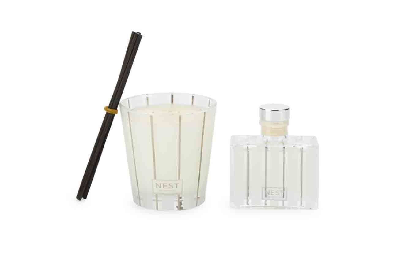 Nest Fragrances Sugar Cookie Petite Candle and Diffuser Set