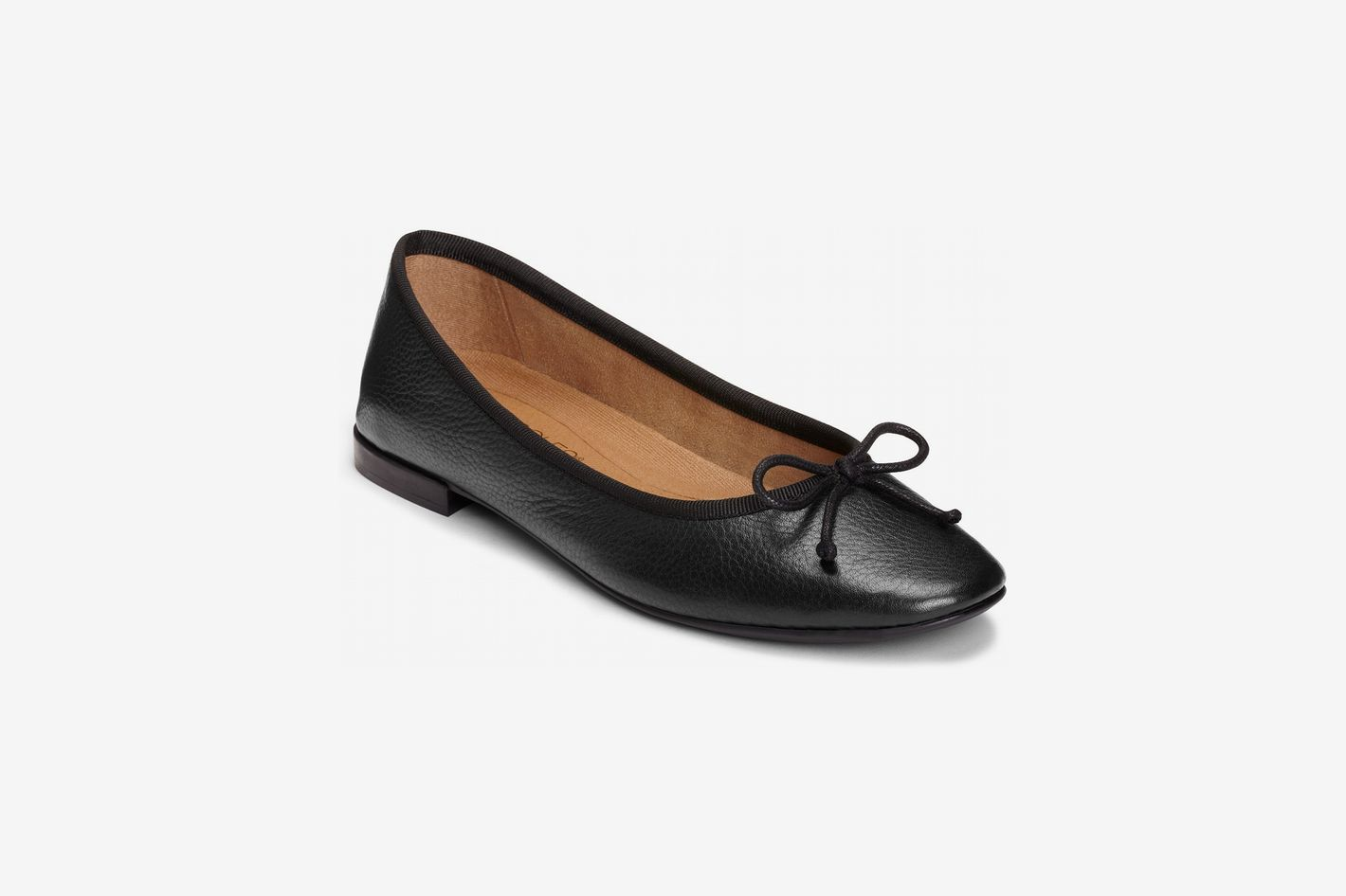 Aerosoles Homerun Flats, Black Leather