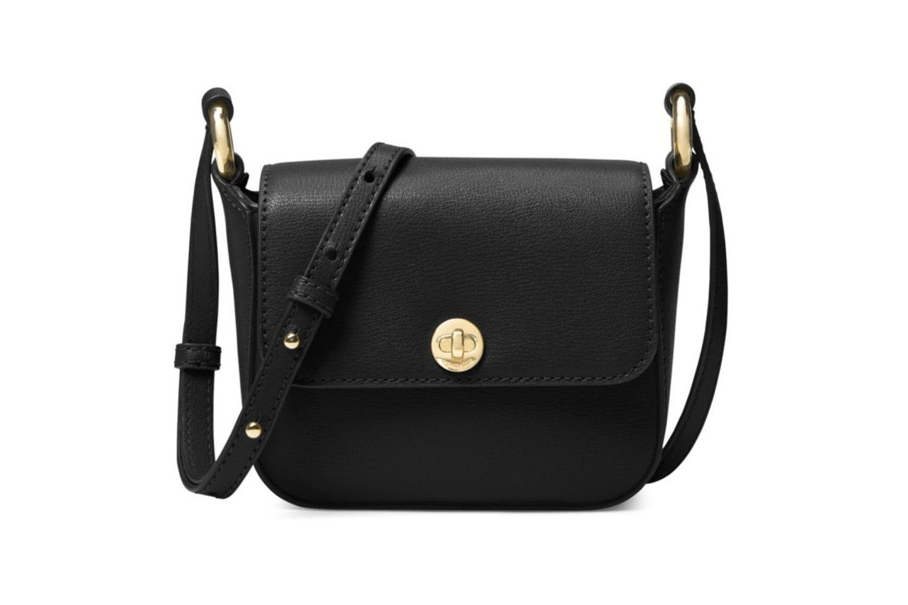 Michael by Michael Kors Flap Snap Crossbody Bag
