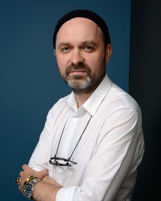 Director Lukas Moodysson of 'We Are The Best' poses at the Guess Portrait Studio during 2013 Toronto International Film Festival on September 10, 2013 in Toronto, Canada.