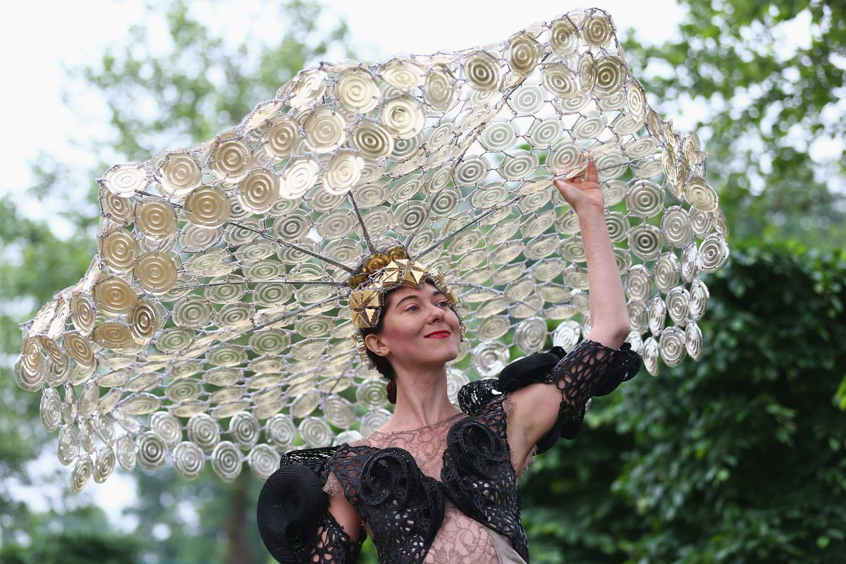 The Craziest Hats & Fascinators From Royal Ascot -- The Cut