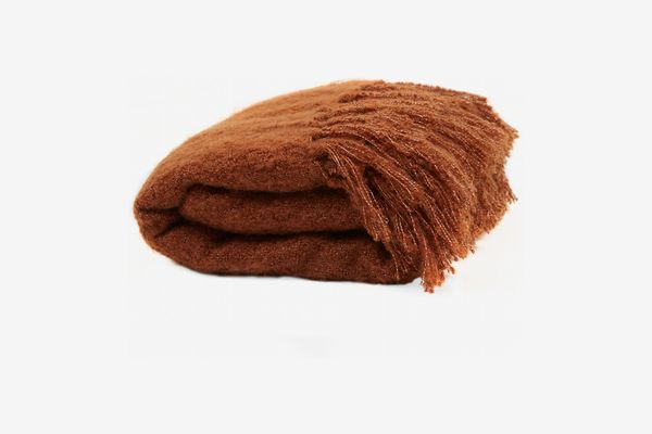 MoDRN Woven Faux Mohair Throw Blanket