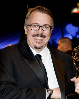Producer Vince Gilligan attends the Governors Ball during the 65th Annual Primetime Emmy Awards at Nokia Theatre L.A. Live on September 22, 2013 in Los Angeles, California.