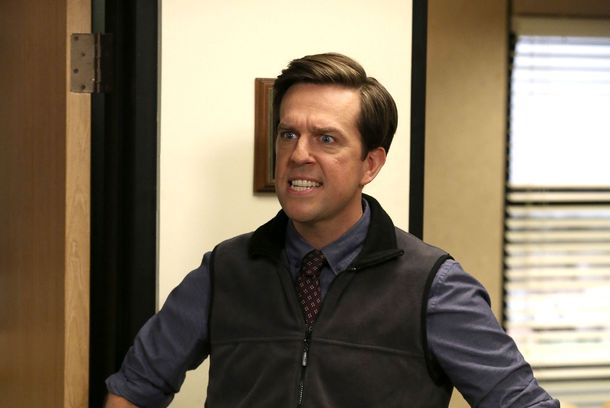 "THE OFFICE -- ""Andy's Ancestry"" Episode 903 -- Pictured: Ed Helms as Andy Bernard"