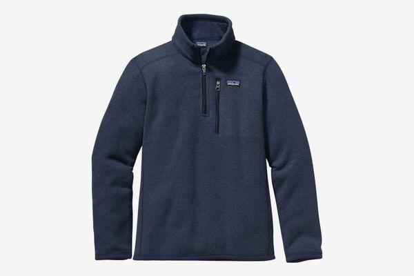Patagonia Boys' Better Sweater 1/4-Zip Fleece Jacket