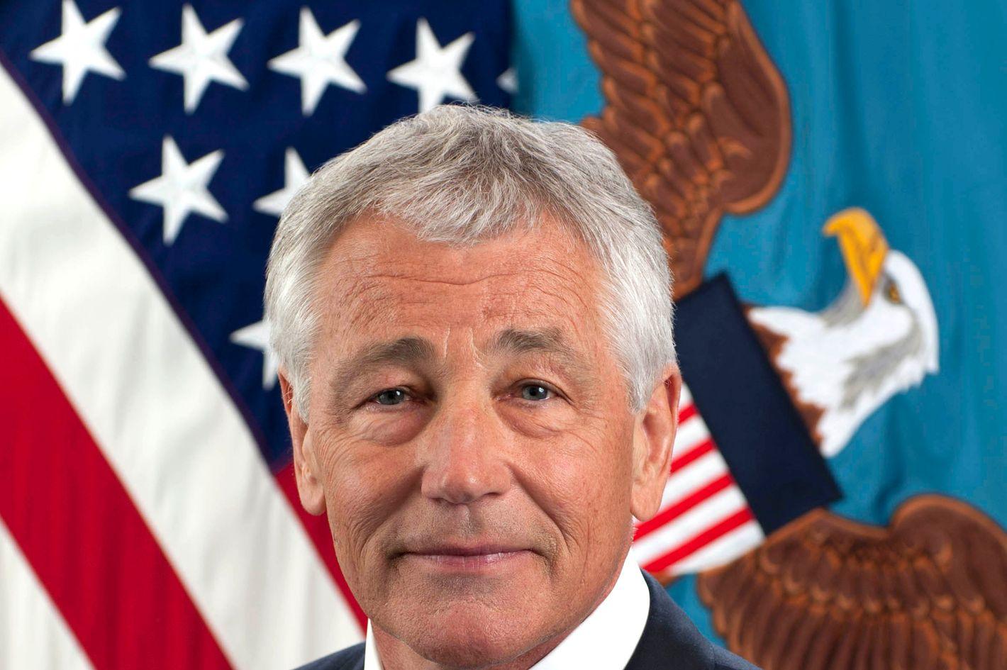 "Secretary of Defense - Charles Timothy ""Chuck"" Hagel"