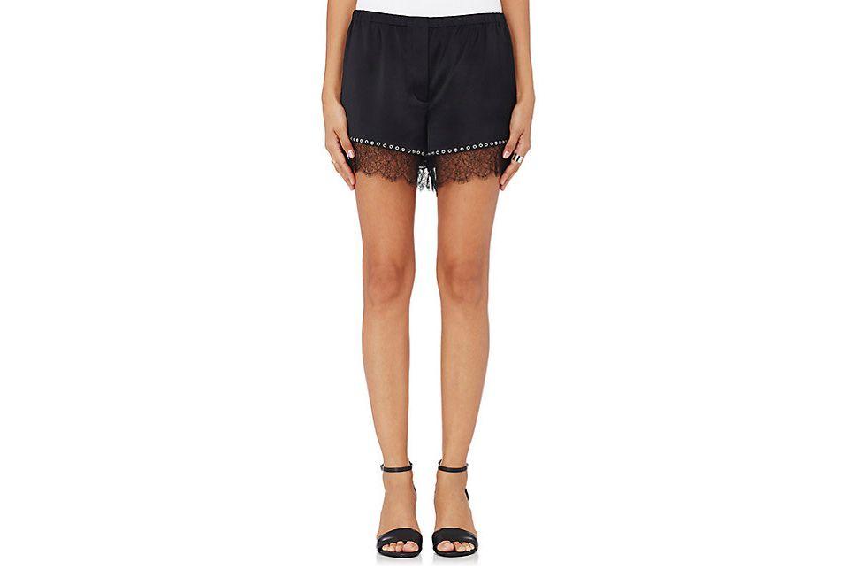 Alexander Wang Silk Bloomer Shorts