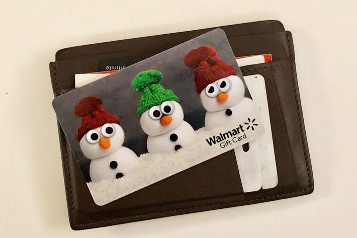 Things to buy with a walmart and walgreens gift card 2018 the authors walmart gift card and wallet the walgreens card he forgot at home reheart Images