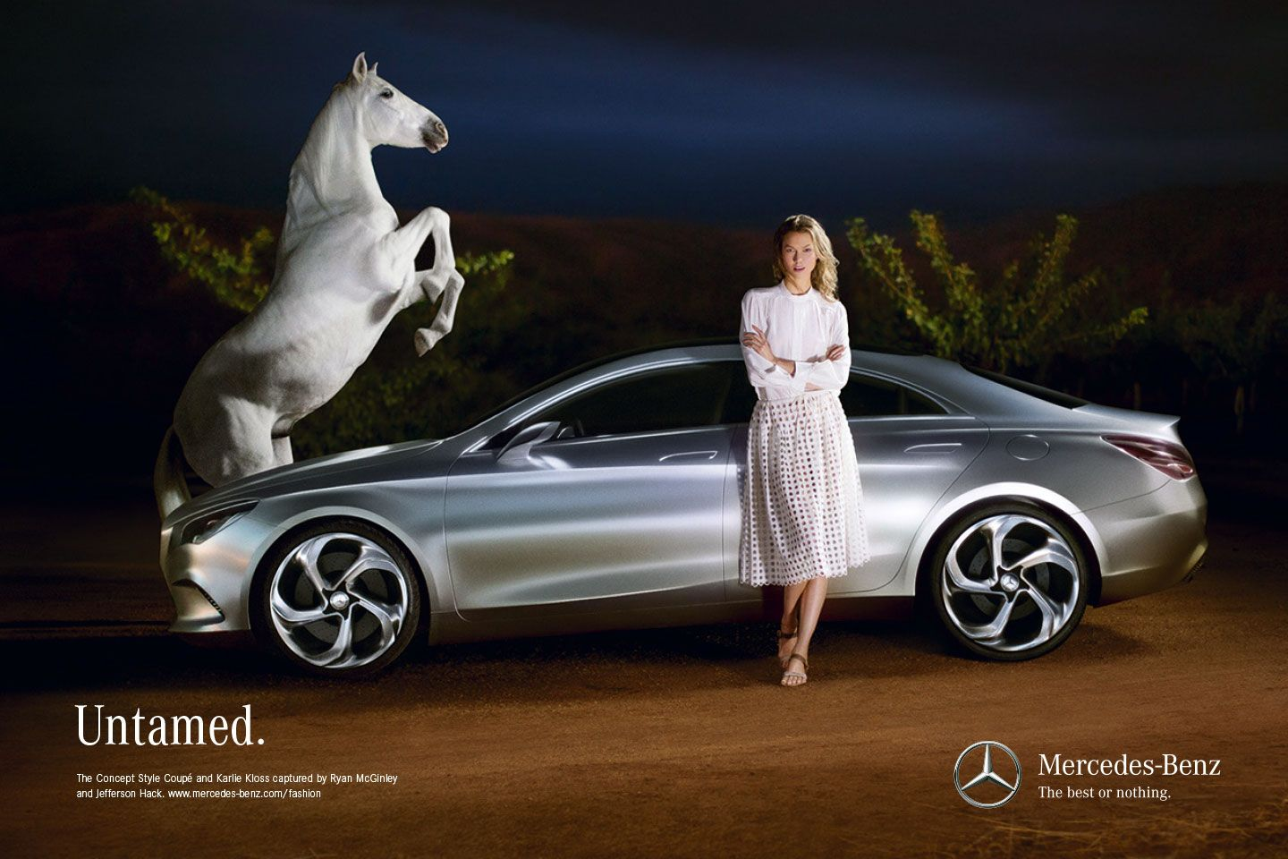 Mercedes benz cla ridingirls for Mercedes benz commercial