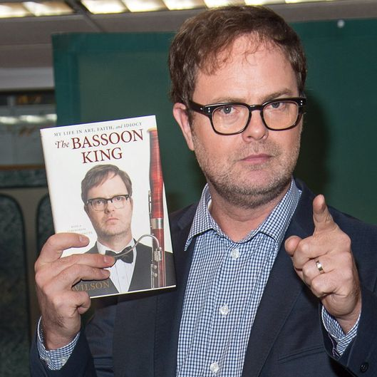 "Rainn Wilson Signs Copies Of ""The Basson King: My Life In Art, Faith, And Idiocy"""
