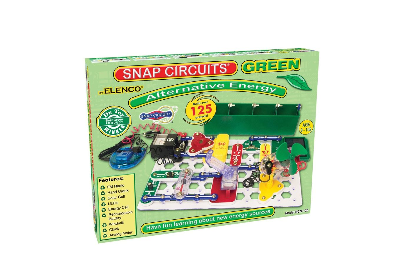 Snap Circuits Alternative Energy Kit