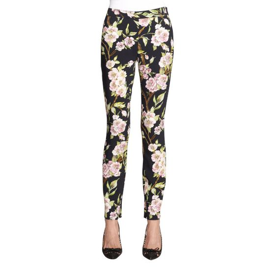 "Floral-print leggings, <a href=""http://www.saksfifthavenue.com/main/ProductDetail.jsp?FOLDER%3C%3Efolder_id=2534374306418061&PRODUCT%3C%3Eprd_id=845524446661772&site_refer=AFF001&mid=13816&siteID=J84DHJLQkR4-7K.dz06uTpnspbNFSWhRgQ&LScreativeid=1&LSlinkid=15&LSoid=203720"">$845.</a>"