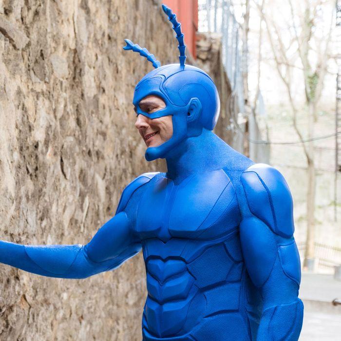 How The Tick Became Tv S Smartest Superhero Satire