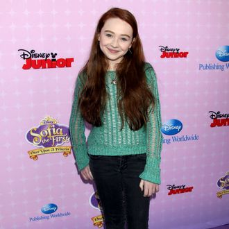 Sabrina Carpenter. Sofia The First: Once Upon A Princess Los Angeles Premiere held at Walt Disney Studios.