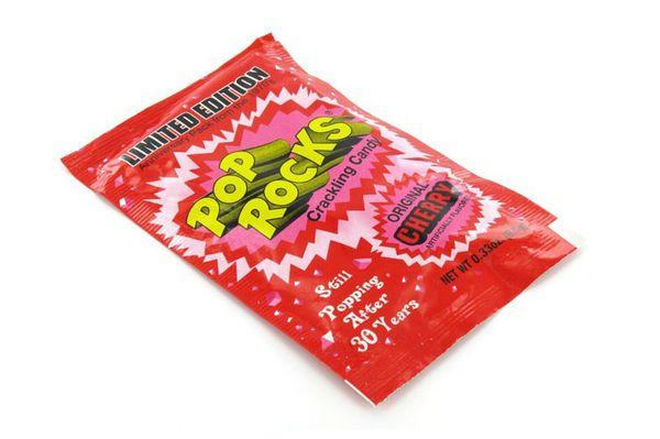 Assorted Pop Rocks Candy Packs (1 dz)