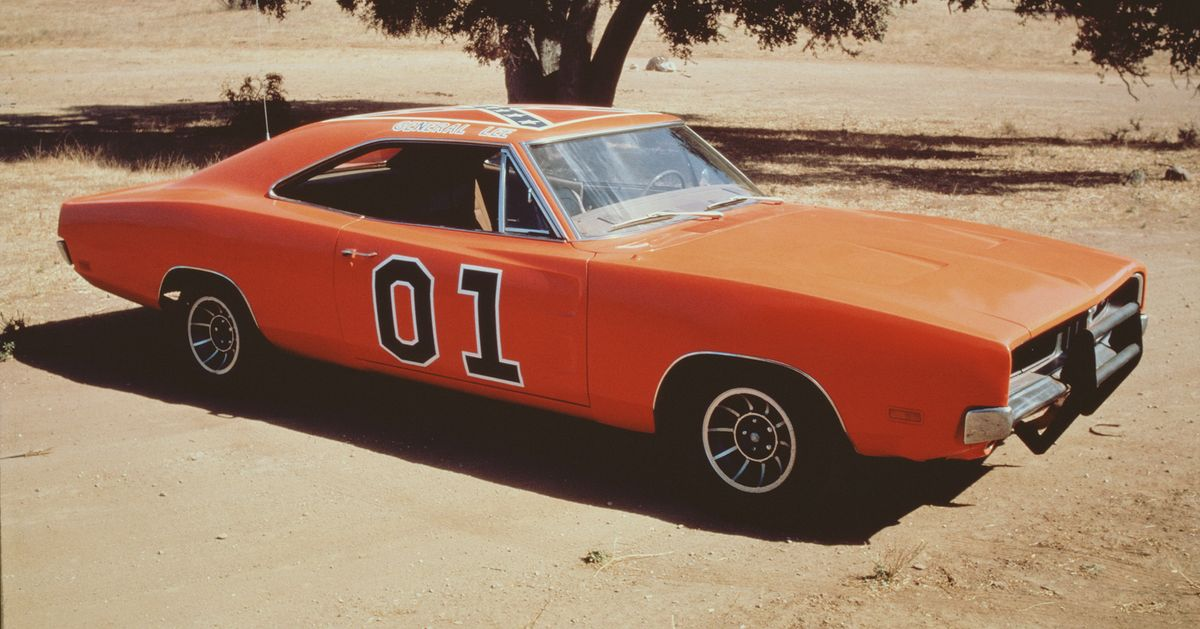 ... to Paint Over Confederate Flag on his Original Dukes of Hazzard Car