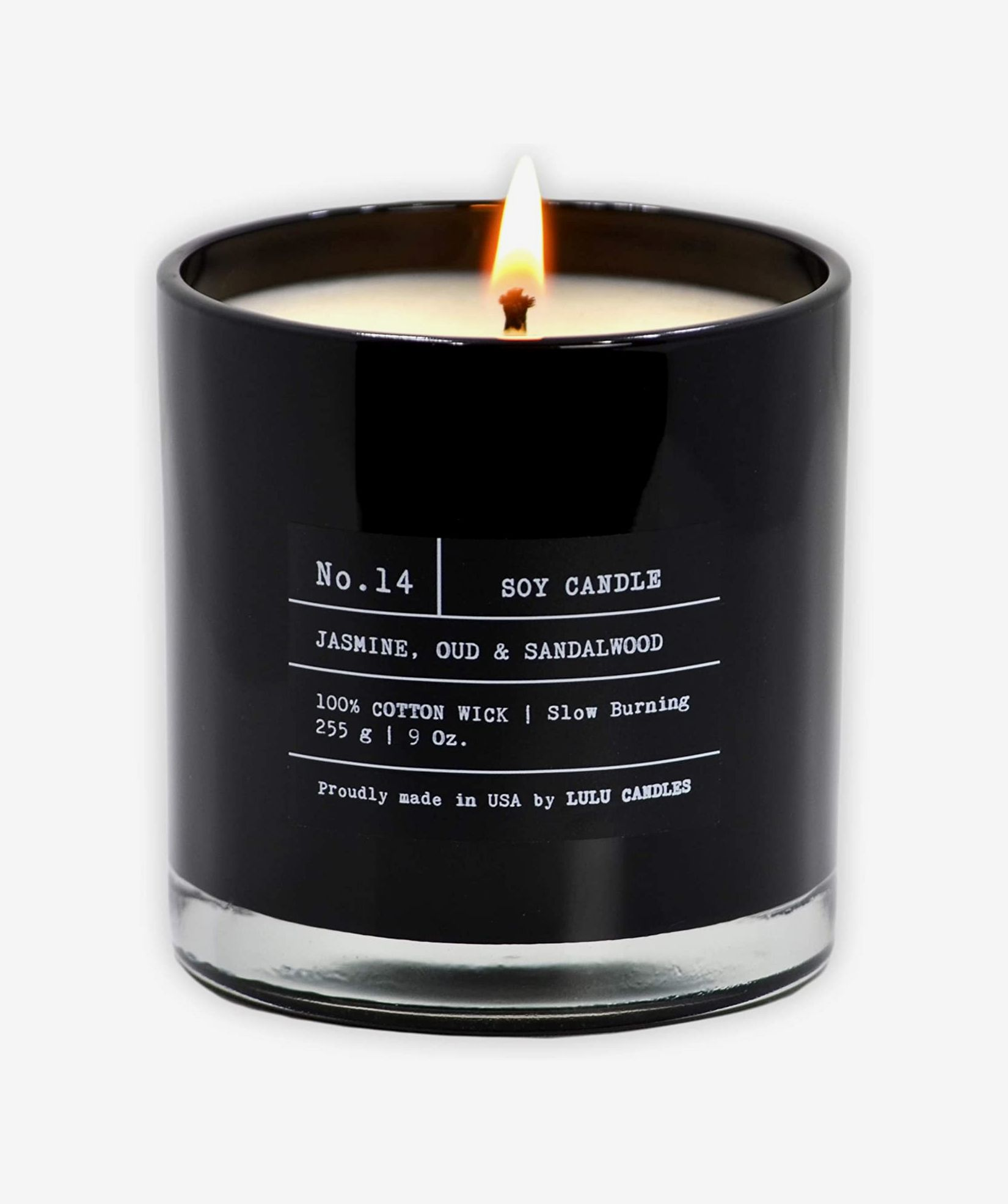 High Quality Man Cave Decor Highly Scented Man Scented Candle Popular Candles Scented Soy Candle Type Black Ice Long Burning Candle
