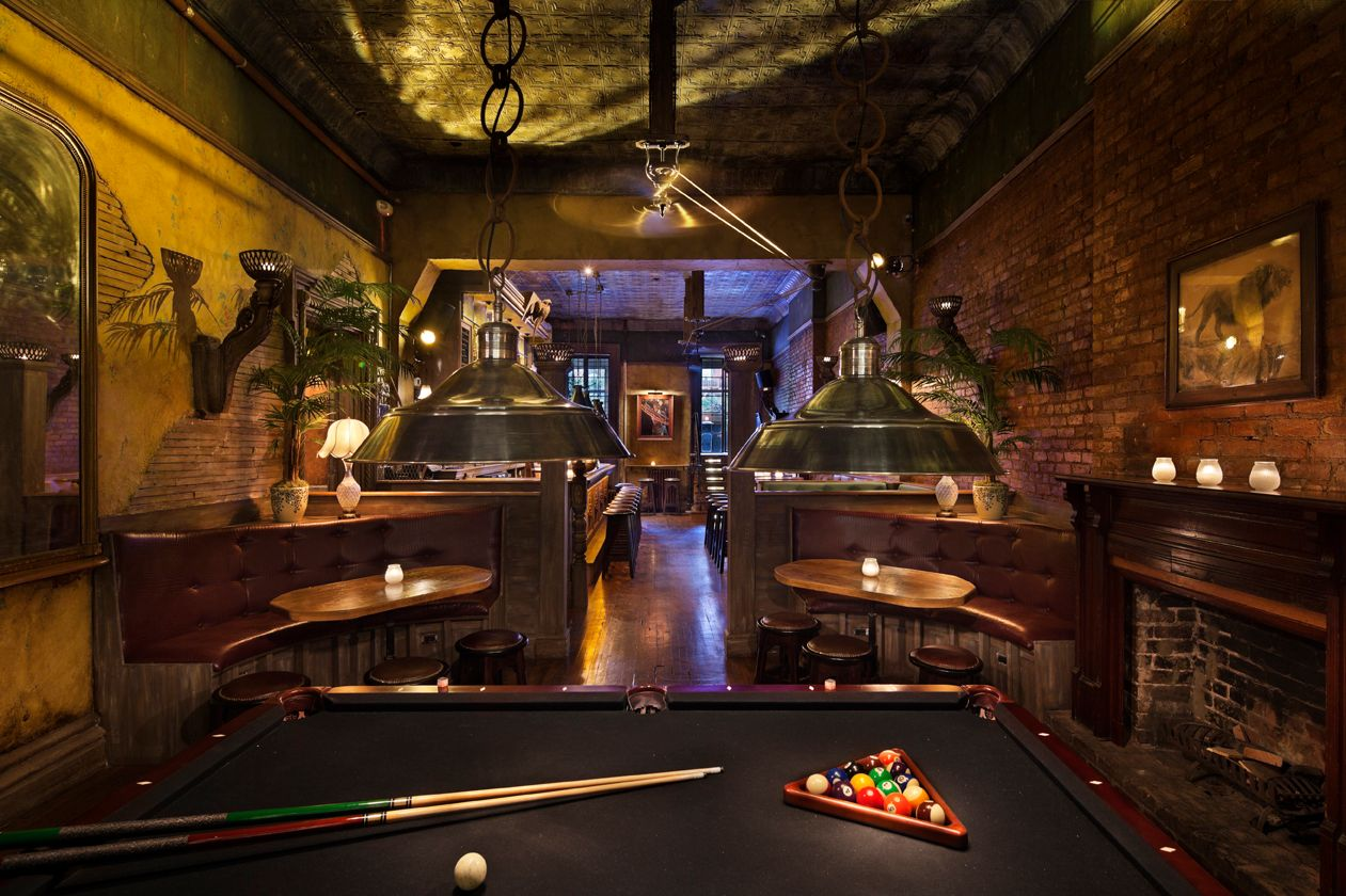 Pool table? Check. Fireplaces? Check.