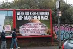 German Fast-Food Billboards Defaced With Handy Recipe Graffiti