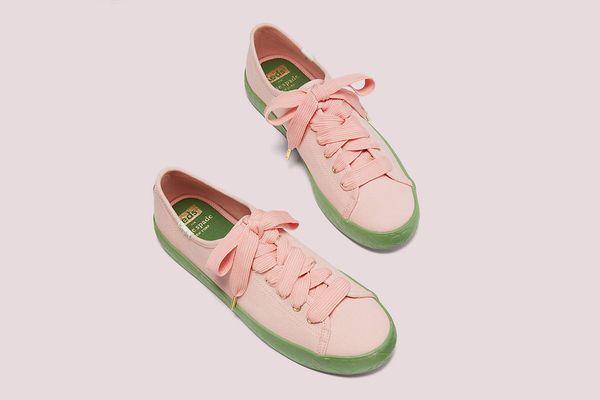 Keds x Kate Spade New York Kickstart Logo Foxing Sneakers