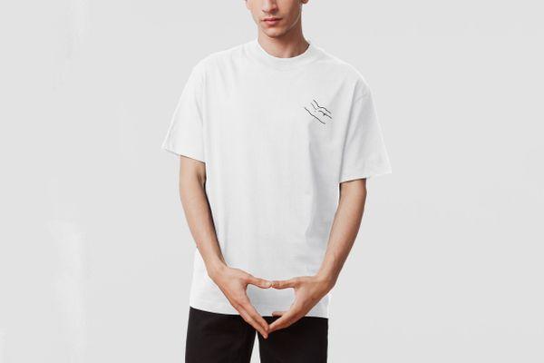 Carne Bollente Butt What White Oversize T-shirt