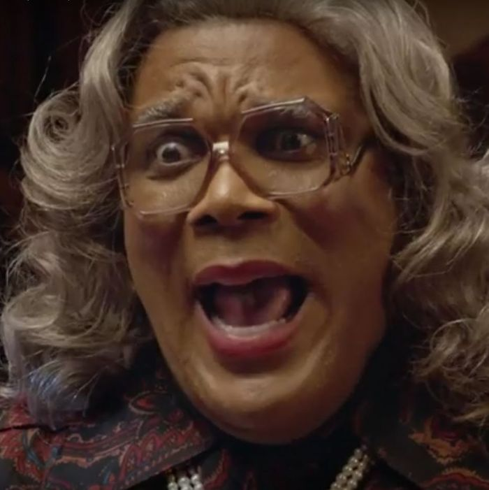tyler perry crosses over as boo a madea halloween wins the box office