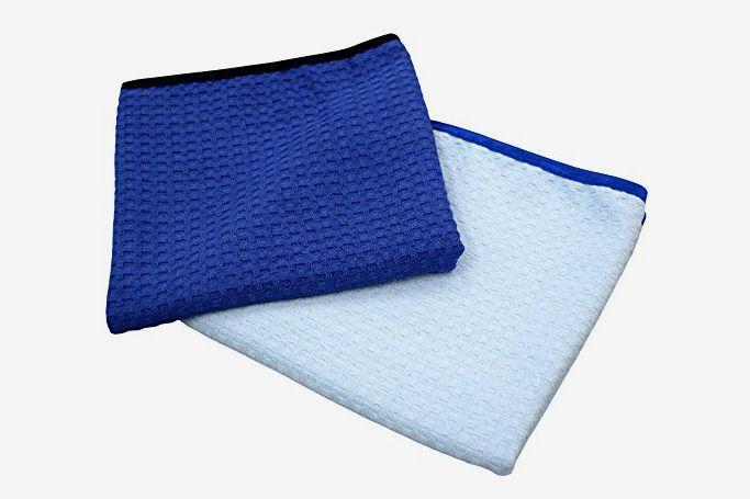 The Rag Company Microfiber Waffle-Weave Towels