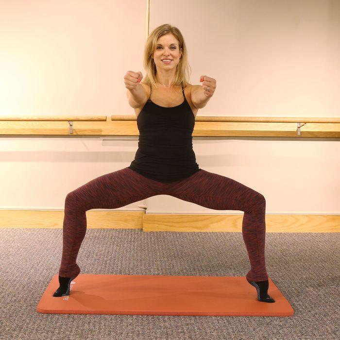 Pure Bare instructor, Sarah Wingo.
