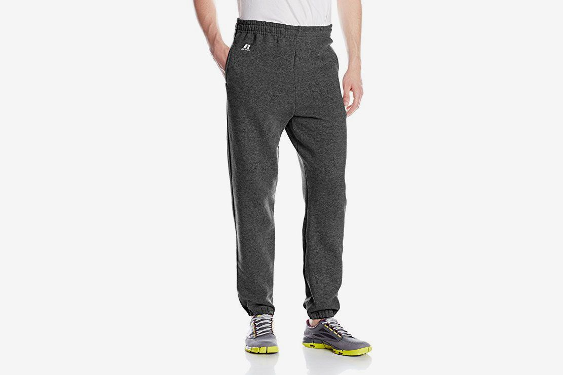 24b0e3cc087b Russell Athletic Men s Dri-Power Closed-Bottom Sweatpants with Pockets