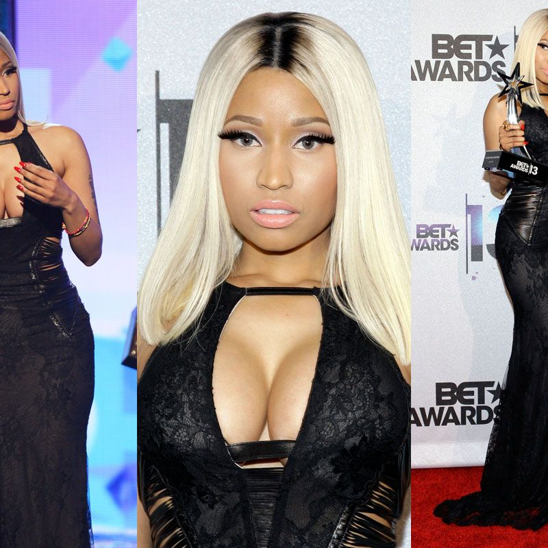 Cleavage Cutouts Galore at the BET Awards