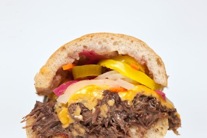 The Byggybeef sandwich.