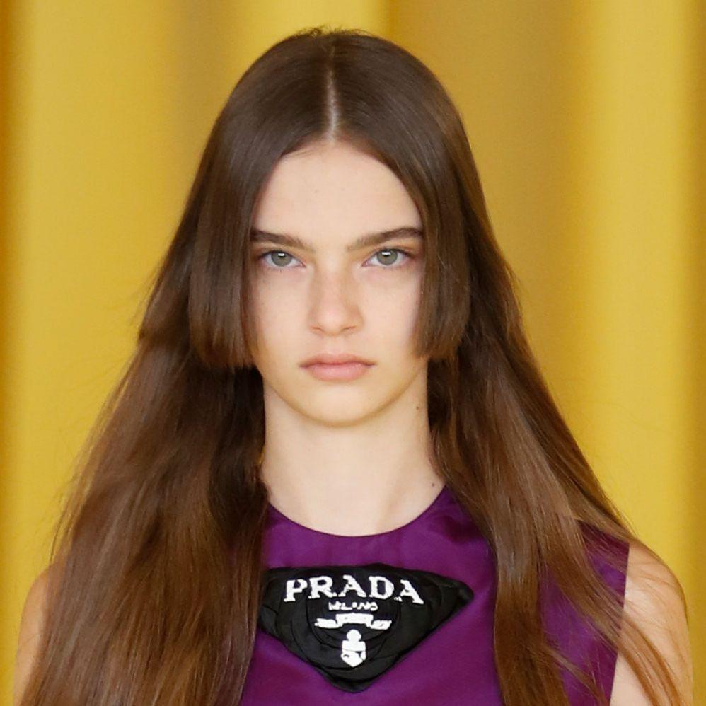 Spring 2021 Milan Prada Runway Hair And Beauty