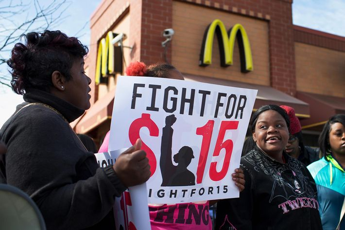 The NLRB argues McDonald's fight against the $15 wage protests hurts its case.