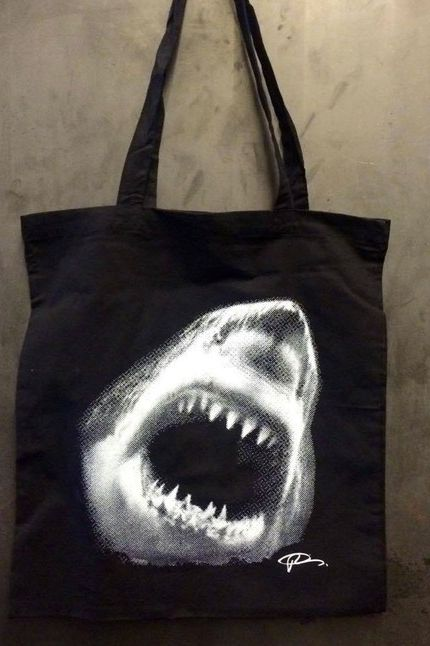 The Kitchen Tote Bag: Robert Longo