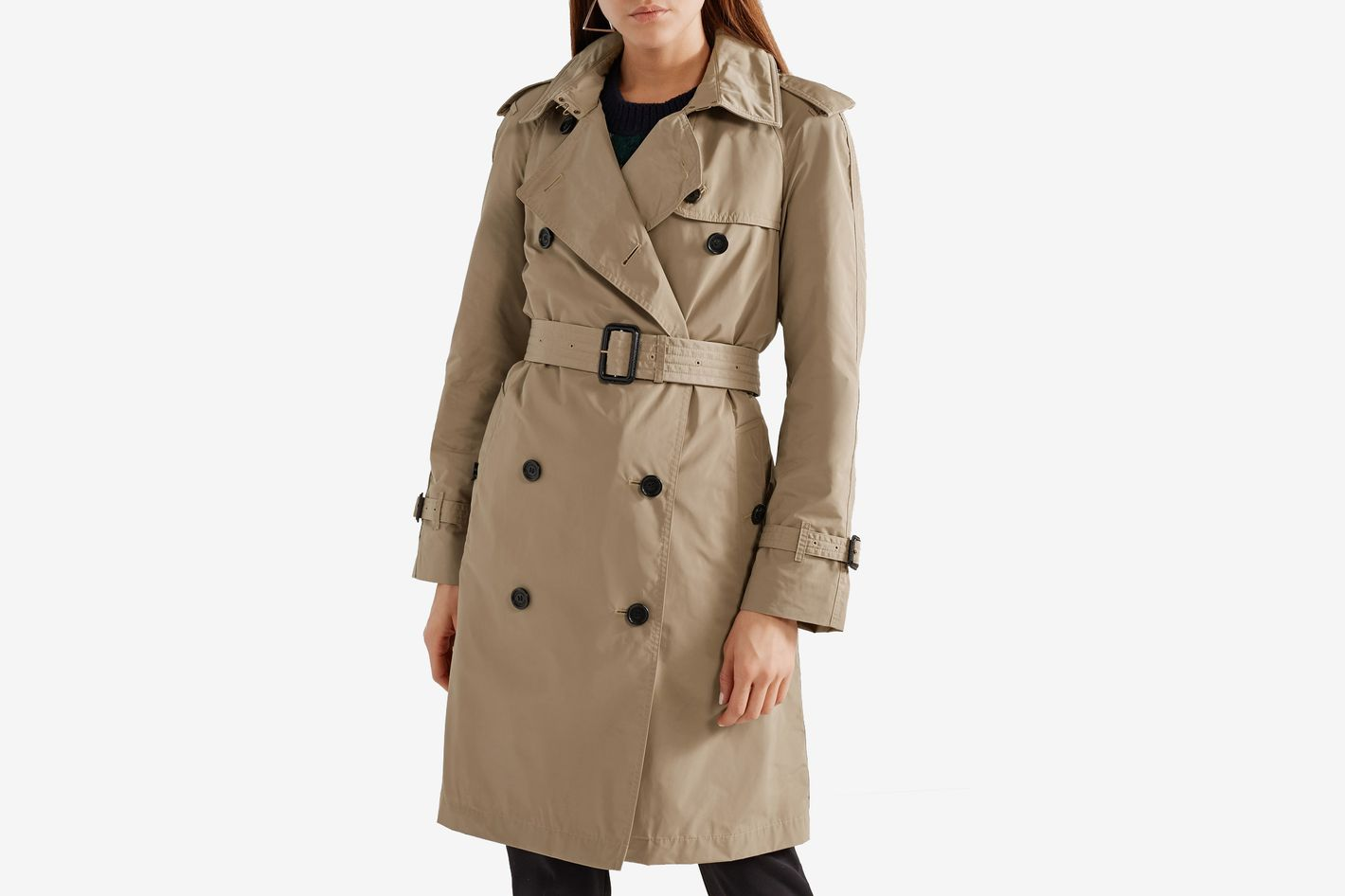 Burberry Amberford Hooded Shell Trench Coat at Net-a-Porter 4e467b47014