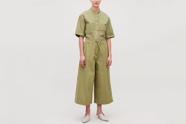 COS Wide-Leg Drawstring Trousers