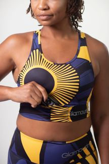 Glamourina The Nile Sports Bra