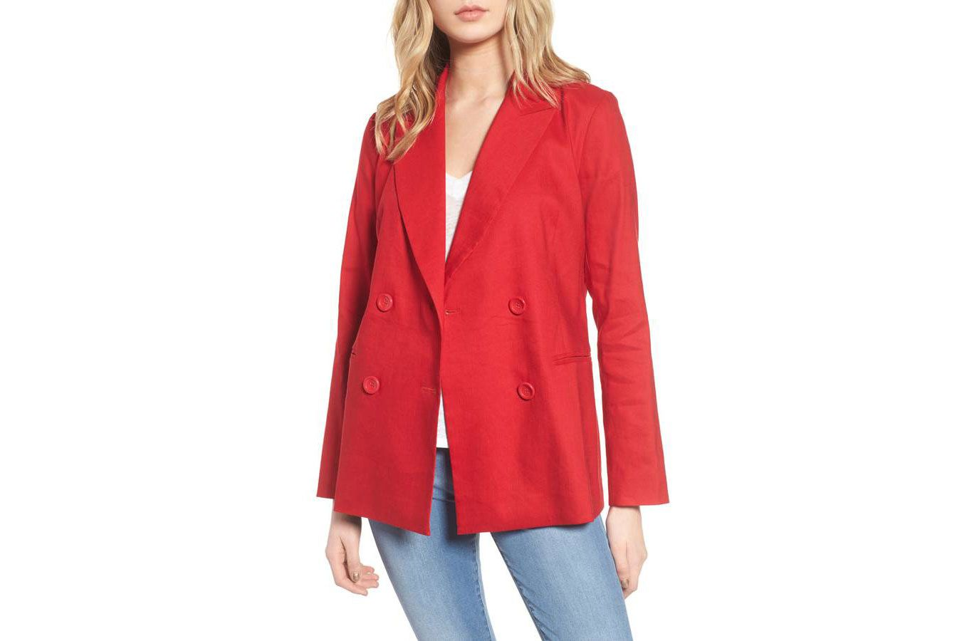Leith Double Breasted Blazer