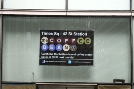 The signage is certainly New York–y.
