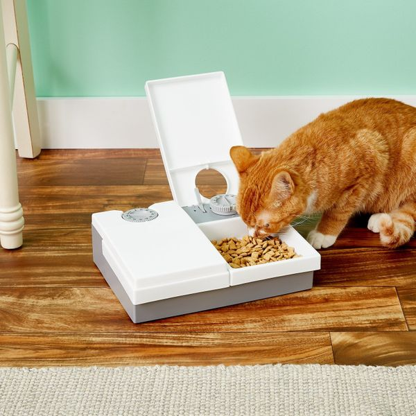 Cat Mate C20 2-Bowl Automatic Pet Feeder