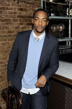 "Anthony Mackie==THE CINEMA SOCIETY & GILT MAN with GREY GOOSE host the after party for ""MAN ON A LEDGE""==Acme, NYC==January 19, 2012==© Patrick McMullan==Photo - Nicholas Hunt/ PatrickMcMullan.com===="