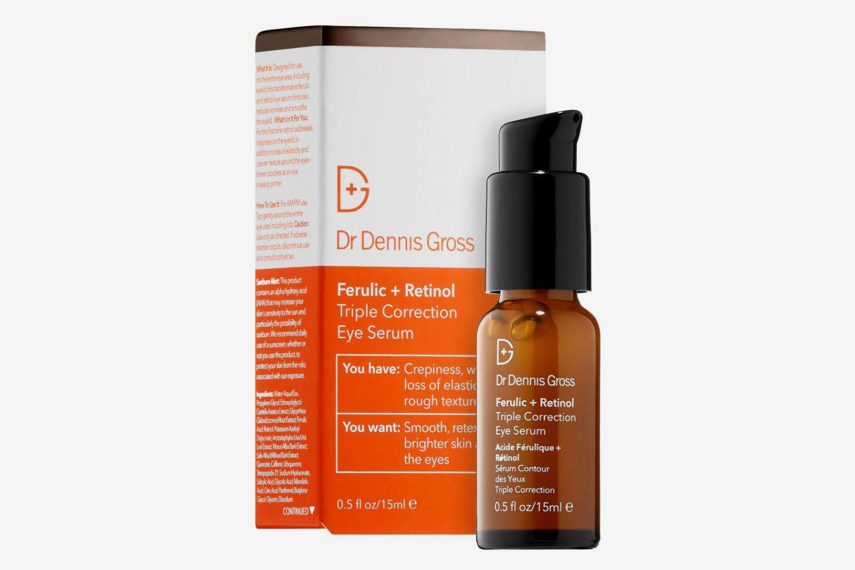 Dr. Dennis Gross Skincare Sérum pour les Yeux Triple Correction Ferulic + Retinol