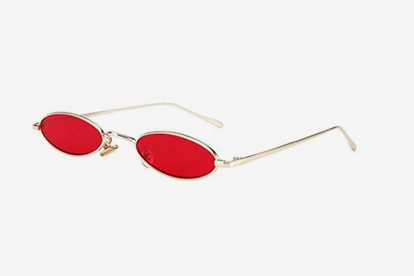 Royal Girl Vintage Oval Sunglasses