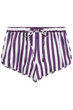 Violet & Wren Berry Stripe Sport Shorts